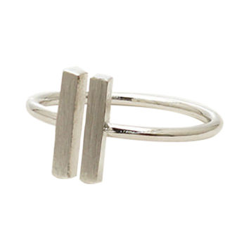 Minimalist Bar Ring