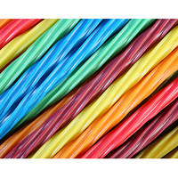Twizzlers Rainbow Licorice Twists: 12-Ounce Bag