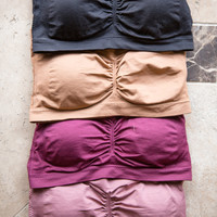 Padded Bandeau, 4 Colors