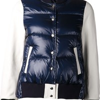 Sacai Luck padded bomber jacket