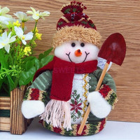 New Christmas Ornament toys Best Gift Xmas Tree House Decoration Santa Claus Snowman Reindeer doll children doll SV010694|26601 = 1945734532