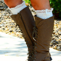 ALL LACED UP BOOT SOCKS