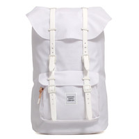 Studio Collection Little America Backpack White Poly Coat
