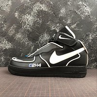 C2H4 x Nike Air Force 1 Mid Reveals Reflective AF1 Sport Shoes