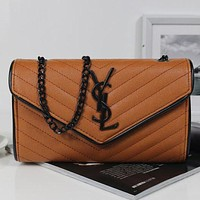 Perfect YSL Women Shopping Leather Chain Satchel Shoulder Bag Crossbody
