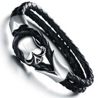 Great Deal Stylish Gift Hot Sale New Arrival Awesome Shiny Innovative Gifts Accessory Korean Strong Character Men Bracelet [10783255875]