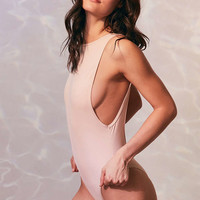 Evil Twin Riley Beige Swimsuit - Urban Outfitters