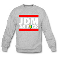 JDM AS FUCK (JDM Logo) crewneck sweatshirt