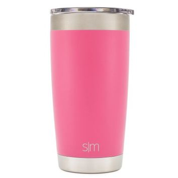 Simple Modern Tumbler Vacuum Insulated 20oz Cruiser with Lid - Double Walled Stainless Steel Hydro Travel Mug - Sweat Free Flask Yeti Coffee Cup - Powder Coated Flask - Blush - Walmart.com