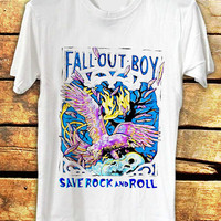 fall out boy save rock and roll  / Shirt for man and woman - custom accept