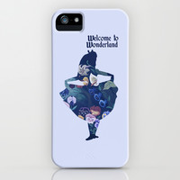Alice in Wonderland - Blue iPhone & iPod Case by MargaHG