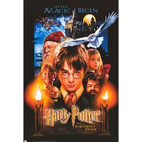 Harry Potter and the Sorcerers Stone Movie Poster 24x36