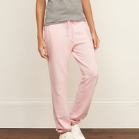 A&F Easy Banded Sweatpants