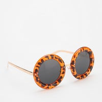 Desert Trip Round Sunglasses - Urban Outfitters