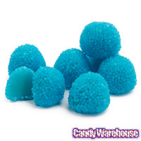 Bumplettes Blue Raspberry Beaded Gumdrops Candy: 5LB Bag | CandyWarehouse.com Online Candy Store