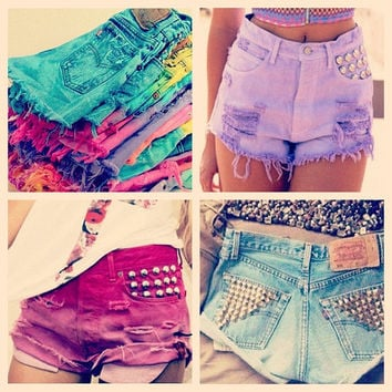 Design Your Own Custom Shorts (Both High Waisted and Low Waisted)