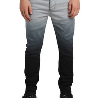RUDE Grey Ombre Slouch Skinny Jeans | Hot Topic