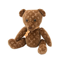 Louis Vuitton Monogram Limited Edition VIP Collectible DouDou Teddy Bear