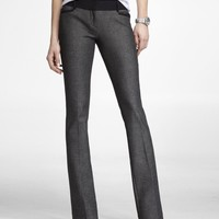 STUDIO STRETCH CONTRAST BARELY BOOT COLUMNIST PANT
