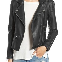 BLANKNYC 'Easy Rider' Faux Leather Moto Jacket   Nordstrom