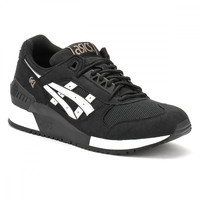 ASICS Mens Black/White Gel-Respector Trainers