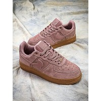 Nike Air Force 1 Low Af1 Pink Sport Shoes - Sale