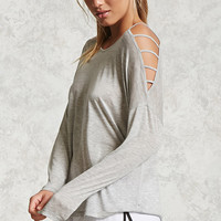 Active Open-Shoulder Top