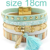 Winter charm bracelets Bohemian bracelets&bangles for women Christmas gift