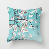Live Your Life and Be Awesome Throw Pillow by Libertad Leal Photography