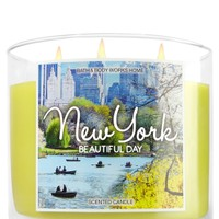 3-Wick Candle New York - Beautiful Day