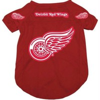 LMFB5F Detroit Red Wings Dog Jersey #2