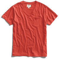 Cardinal Pocket V-Neck T-Shirt