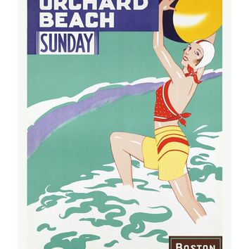 Old Orchard Beach Maine Poster