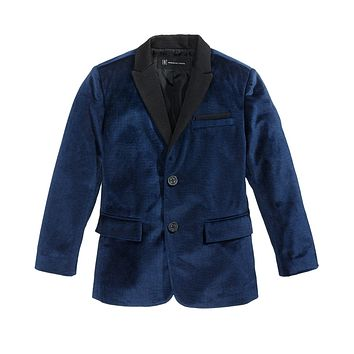 INC International Concepts I.N.C. Boys Velvet Blazer.
