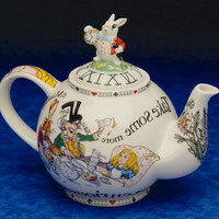 Alice in Wonderland Collectible Teapot