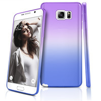 Colorful Gradient case For Samsung Galaxy S6 S6 edge S6 edge plus S7 S7 edge A9 A3 A5 A7 ( 2016 ) J3 J5 J7 ( 2016 ) Note 3 4 5 7