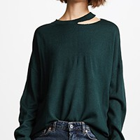 Cutout Detailed Sweater