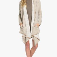 Staying in the Loop Marled Knit Cardigan