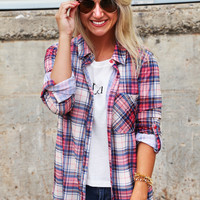 Rad Plaid Button Up