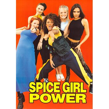 The Spice Girls - Spice Girl Power Poster 23x33