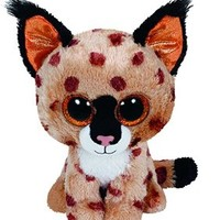 TY Beanie Boo Plush - Buckwheat the Lynx 15cm