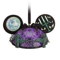 The Haunted Mansion Ear Hat Ornament   Disney Store