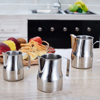 Italian-style Thick 304 Stainless Steel Espresso Coffee Milk cup mugs caneca thermo Frothing Pitcher Steaming Frothing Pitcher