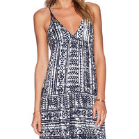 SAYLOR Clem Dress in Navy