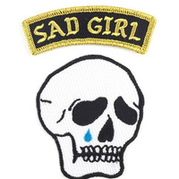 Sad Girl Patch Set