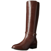 Lauren Ralph Lauren Womens Meranda Leather Knee-High Riding Boots