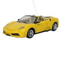 Cool Remote Control Alloy Car Yellow