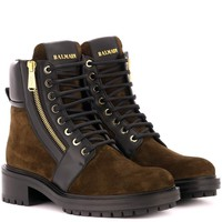 Army Ranger suede ankle boots