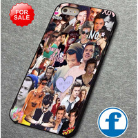 harry styles collage one direction    for iphone, ipod, samsung galaxy, HTC and Nexus PHONE CASE