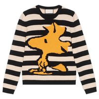 Indie Designs Gucci Inspired Striped Wool Woodstock Sweater